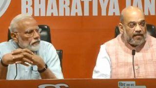5 साल में PM मोदी की पहली प्रेस कॉन्फ्रेंस, कहा- देश को धन्यवाद, हम फिर से बहुमत की सरकार बनाएंगे