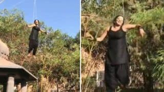 Bhojpuri Hot Bomb Monalisa's Aerial Dance on 'Happier' While Performing Action Sequence For Nazar is Unmissable - Watch