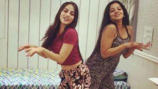 Bhojpuri Hot Bomb Monalisa Flaunts Her Sexy Dance Moves Along With Niyati Fatnani on 'Hook-up' Song - Watch Viral Video