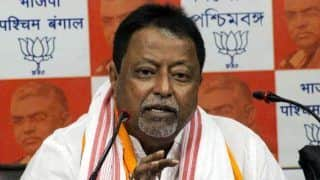 BJP Leader Mukul Roy to Stay Away From Areas in WB Polling in Last Phase