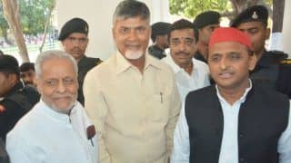 Anti-BJP Coalition: Chandrababu Naidu Holds Talks With Akhilesh, Mayawati