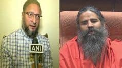 PM Shouldn   t Lose His Voting Right For Being Third Child   : Owaisi Slams Ramdev's Advice on Population Control