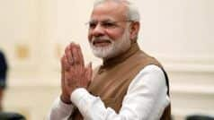 PM-designate in Kashi Today to Thank Voters 'For Reposing Faith' in Him