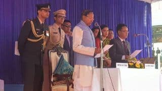 Prem Singh Tamang Aka PS Golay Sworn in as Chief Minister of Sikkim