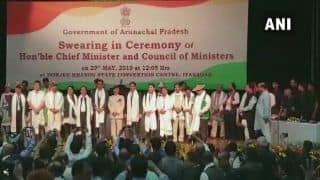 Pema Khandu Takes Oath as 10th Chief Minister of Arunachal Pradesh