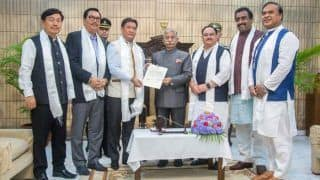 Arunachal Pradesh Governor Invites Pema Khandu to Form Next Government