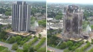 Pennsylvania's Tallest Building Gets Demolished Within 16-Seconds And The Video Will Amaze You - Watch Here
