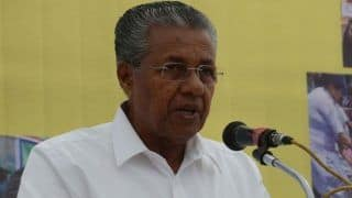 Vijayan Writes to EC, CRPF Over Facilities For Kerala Police on Poll Duty