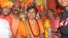 I Did Not Become MP to Get Sewers, Toilets Cleaned: BJP's Pragya Thakur