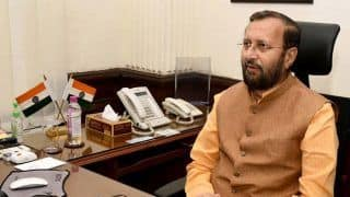 Prakash Javadekar Takes Charge of Information And Broadcasting Ministry