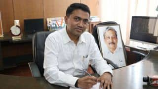 Won't Drop Allies, Says Goa CM as BJP Becomes Single Largest Party