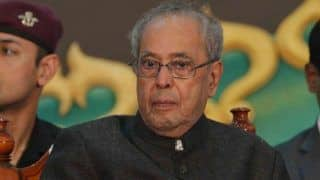 Pranab Mukherjee Hails EC, Says LS Polls Were Conducted 'Perfectly'