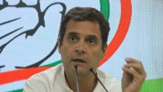 'Govt Using ED, CBI, Section of Spineless Media to Character Assassinate Chidambaram': Rahul Gandhi Lashes Out