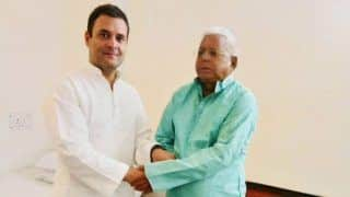 Lalu Prasad Yadav Terms Rahul Gandhi's Offer to Resign as Suicidal