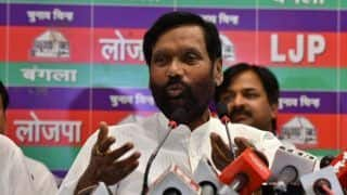 LJP Recommends Ram Vilas Paswan as Party Representative in Modi Government