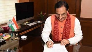 Ramesh Pokhriyal 'Nishank' Takes Charge of Human Resource Development Ministry