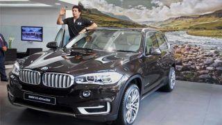 Sachin Tendulkar Launches New BMW X5 SUV in India