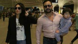 Kareena Kapoor Khan, Saif Ali Khan Along With Taimur Ali Khan Head-off to London For Family Vacation