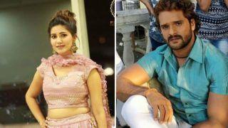 Haryanvi Sizzler Sapna Choudhary Flaunts Her Sexy Thumkas Along With Khesari Lal Yadav on Popular Bhojpuri Song 'Thik Hai'