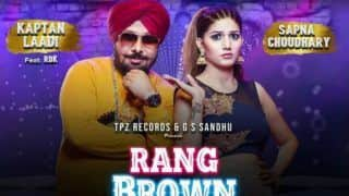 Haryanvi Hot Bomb Sapna Choudhary Shares The Poster of Her Upcoming Punjabi Song 'Rang Brown Ni', Track to Release Tomorrow