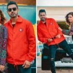 Punjabi Hottie Sargun Mehta Swags it up as She Strikes a Pose With Gippy Grewal During Chandigarh Amritsar Chandigarh Promotions