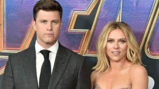 Avengers Star Scarlett Johansson Gets Engaged With Her Long Time Beau And Saturday Night Host Colin Just