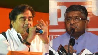 Shatrughan Sinha to Slug it Out With Ravi Shankar Prasad in Patna Sahib