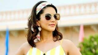 Sunny Leone Looks Smoking Hot in Summer-ready Yellow Dress And Floral Headband