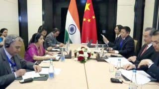 Sushma Discusses Ways to Boost Ties With Kyrgyz President, Both Countries Commit to Explore 'Untapped Potential'