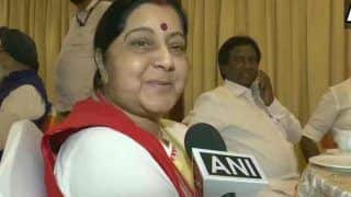 'Not True,' Says Sushma to Reports of Her Appointment as Andhra Pradesh Governor