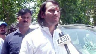 WATCH: Tej Pratap Yadav's Bodyguard Beats Journalist For 'Attacking' Their Car