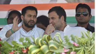 Rahul Will Play Central Role in Formation of New Government: Tejashwi