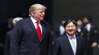 US President Trump Becomes First World Leader to Meet Japan's New Emperor Naruhito