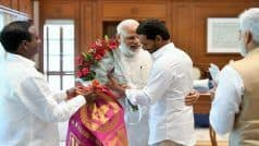 Jaganmohan Reddy Meets PM Modi, Invites Him For Swearing-in Ceremony