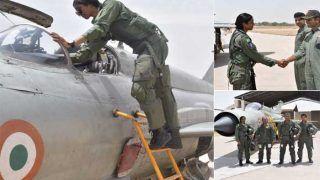 IAF की 1st फाइटर महिला पायलट भावना कंठ लड़ाकू विमान से जा सकेंगी युद्धक मिशन पर