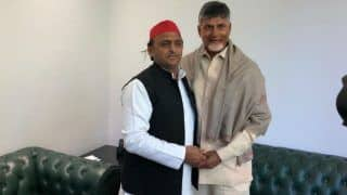 Chandrababu Naidu Meets Rahul Gandhi, Akhilesh Yadav And Mayawati, Among Others, Discusses Anti-BJP Front in Post-election Scenario