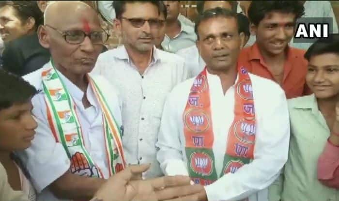 Congress Worker Shaves Off His Head After Losing Bet to BJP Worker Over Lok Sabha Elections 2019 Mandate