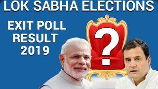 IANS-CVOTER Exit Poll Predicts NDA Will Win 287 Seats, UPA Will Win 128