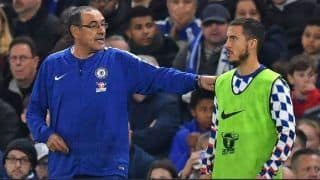 Chelsea Coach Praises Eden Hazard