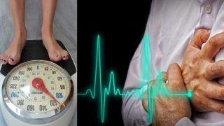 मोटापे और डायबिटीज से हार्ट अटैक का खतरा ज्यादा, ऐसे कम करें रिस्क