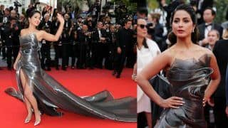 Hina Khan Surprises Fans in Another Hot Look at The Red Carpet of Cannes 2019, Wears a Gorgeous Gown by Aline Le' Kal