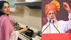 VIDEO : कंगना रनौत ने घरवालों संग यूं सेलिब्रेट की PM नरेंद्र मोदी की जीत