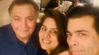 After Deepika Padukone, Shah Rukh Khan And The Ambanis, Karan Johar Visits Rishi Kapoor-Neetu Kapoor