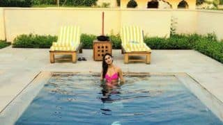 Television Actor Krystle D'souza is Water Baby, Sets The Temperature Soaring in Pink Bikini