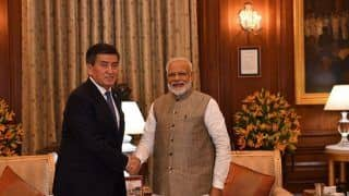 PM Modi Holds Talk With Kyrgyz President Just After Swearing-in