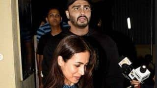 Malaika Arora Makes Fun of Arjun Kapoor, Calls Him Grumpy -Take a Look