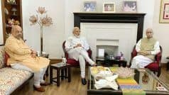 Day After BJP's Massive Win in Lok Sabha Election, PM Modi Meets LK Advani, MM Joshi