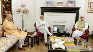 Day After BJP's Massive Win in Lok Sabha Election, PM Narendra Modi Meets LK Advani, Murli Manohar Joshi