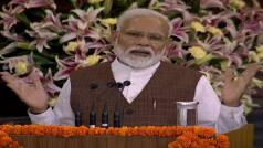 LIVE: 'Hum Kuch Karne Nahi Bahut Kuch Karne Aaye Hai', Roars Narendra Modi in Central Hall