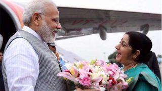 सुषमा स्वराज ने बड़ी जीत पर पीएम मोदी को दी बधाई, देशवासियों के प्रति जताई हृदय से कृतज्ञता